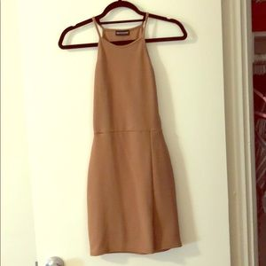 Pretty Little Thing Nude Dress size small